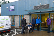 Opening day of the Beezon Road branch of Highgate Vets